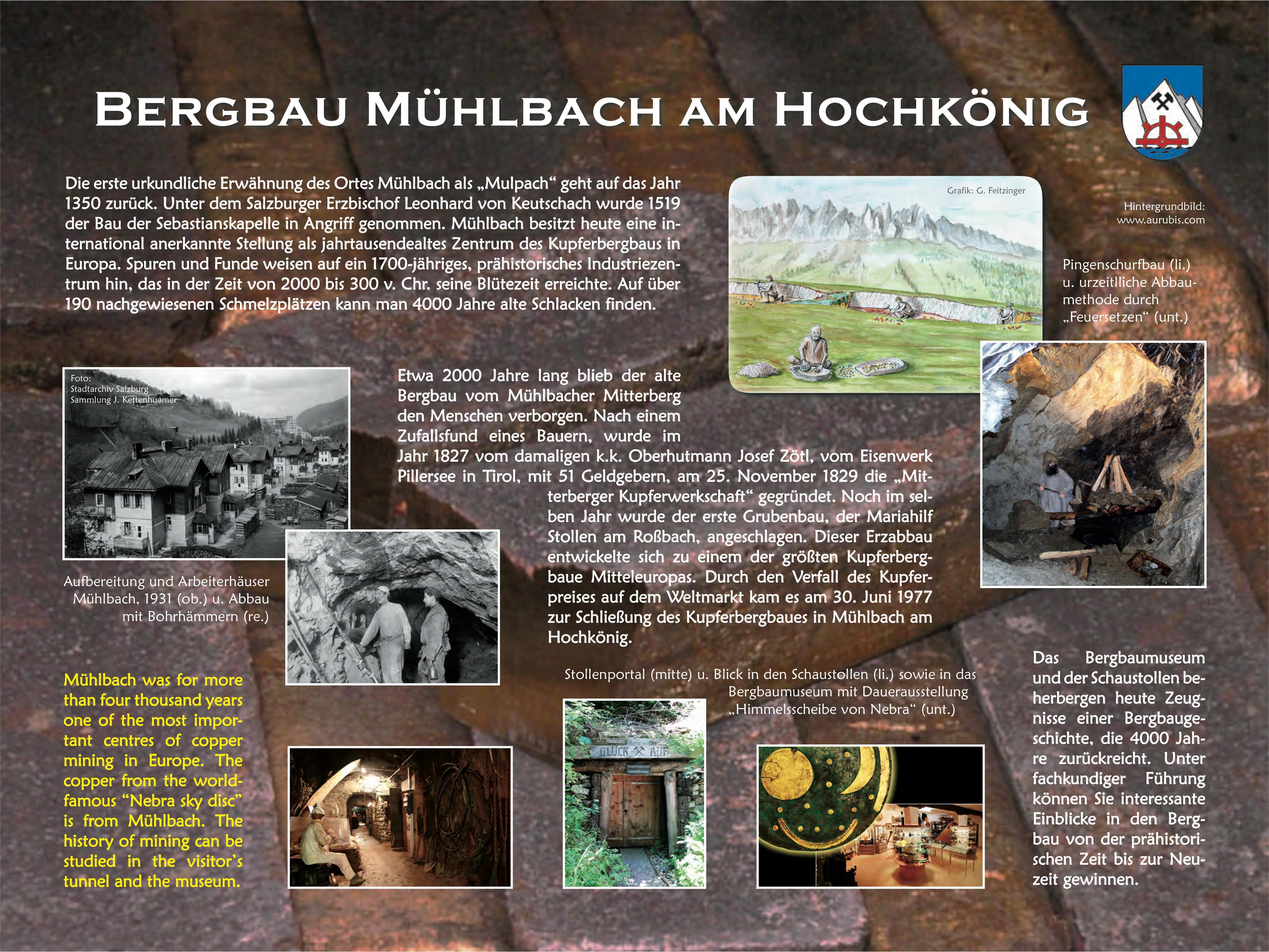 Erzltafel Mühlbach